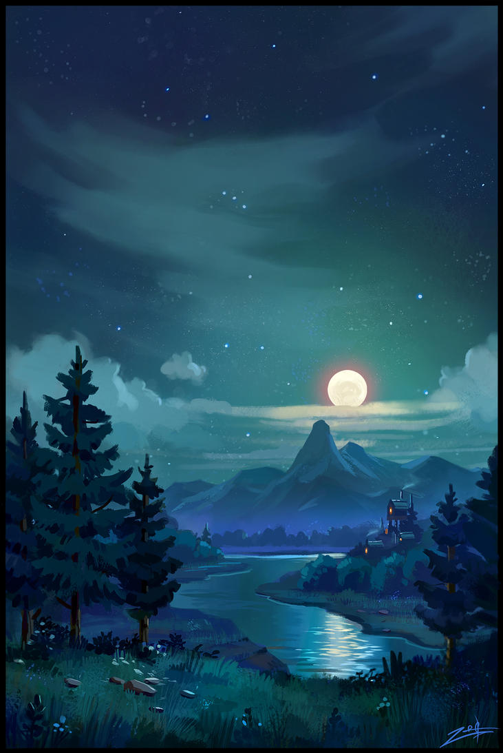 Night by Zoriy