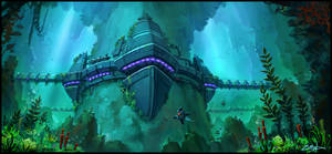 Underwater station