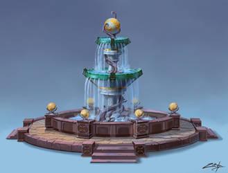 Fountain by Zoriy