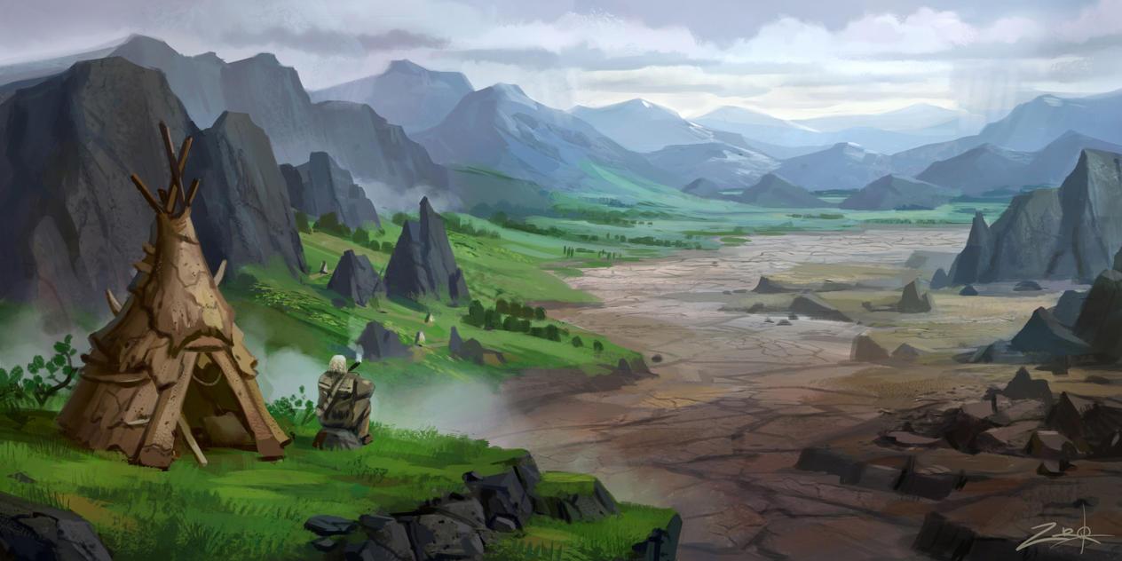 Valley by Zoriy