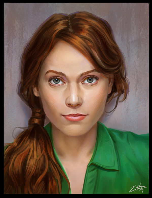 Portrait by Zoriy