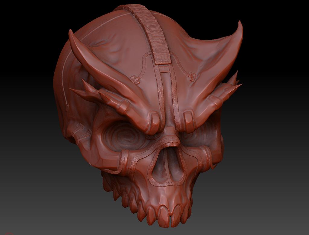Skull by Kazlyan