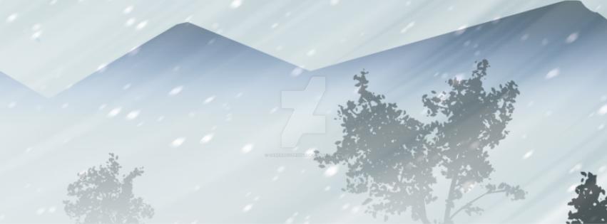 Snowy atmosphere by darkartistrising