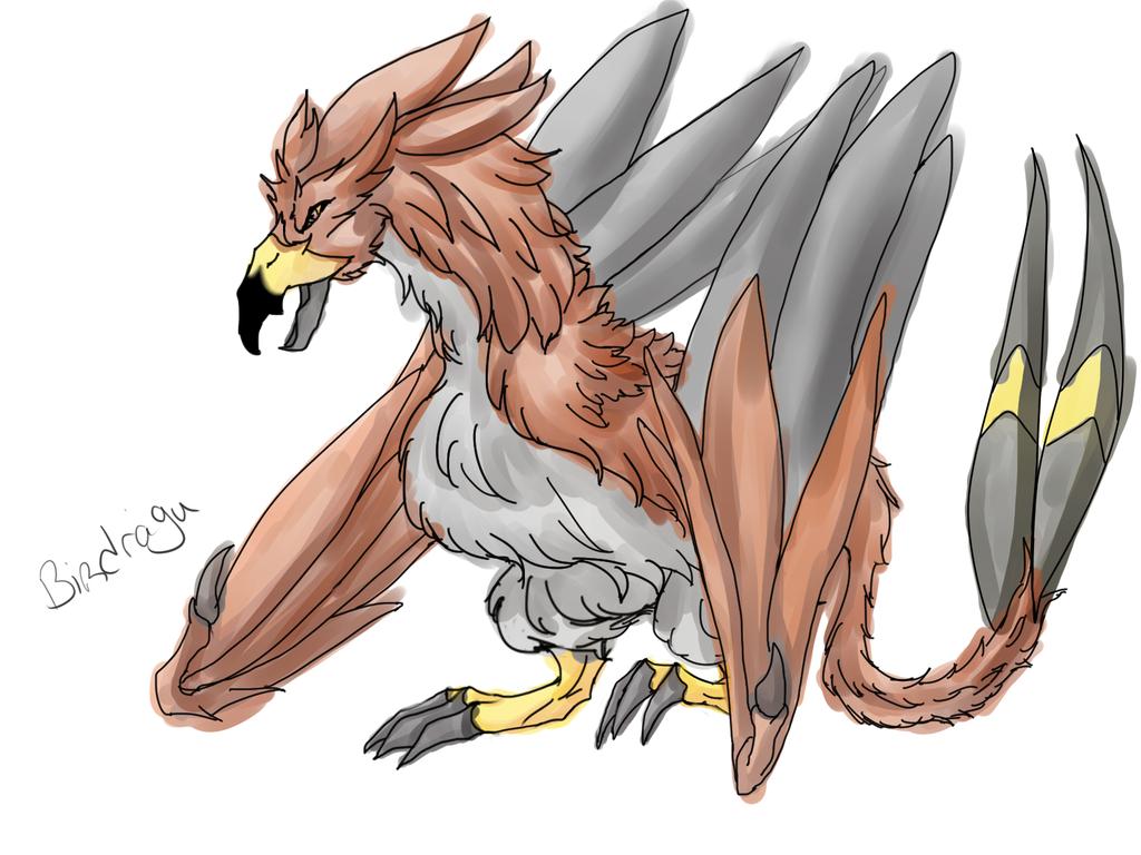 Birdydragu by CrowMoe