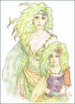 Rydia before and after