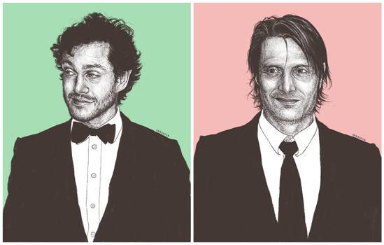 Hugh and Mads