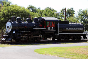 Southern Pacific Engine 1215 by NitzkaPhotography