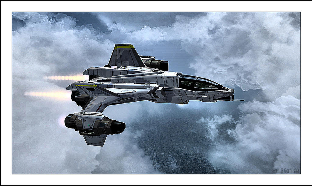 YSS-1000 Sabre Starfighter by MidEngine4Life