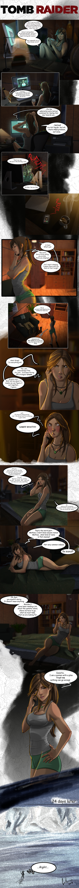 The (true) Final Hours of Tomb Raider by UltimateTattts