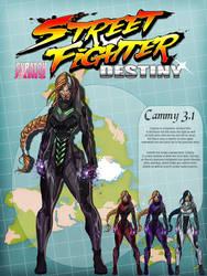 Street Fighter Destiny Jam by UltimateTattts
