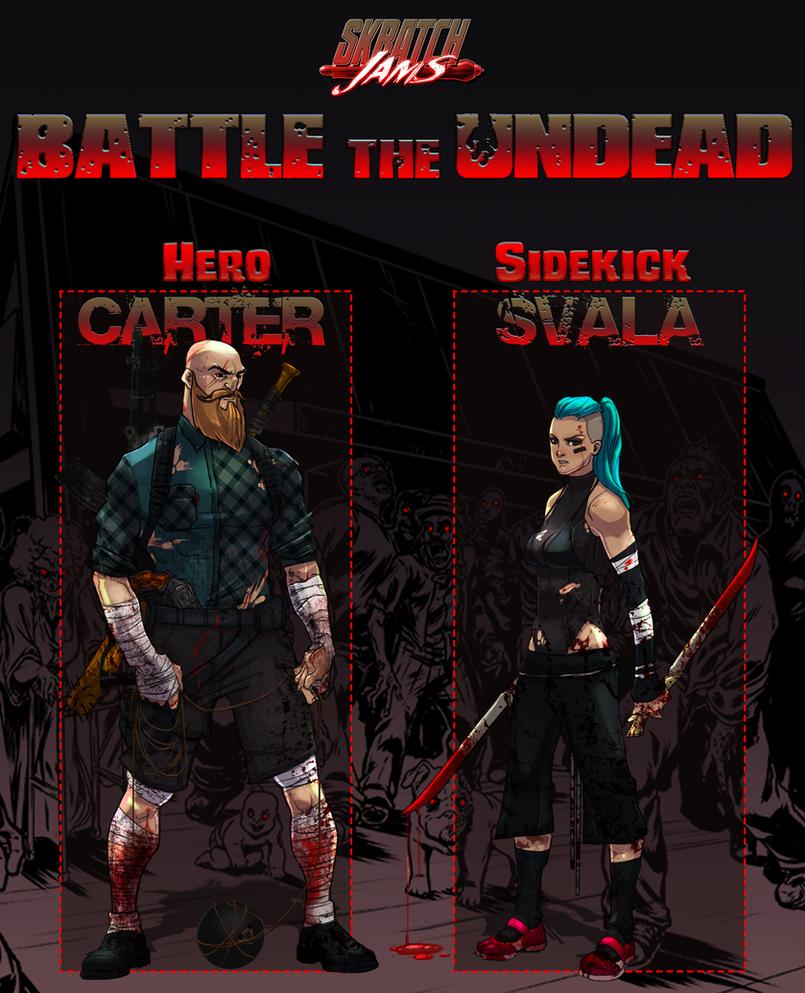 SkratchJams Battle The Undead | Carter and Svala by UltimateTattts