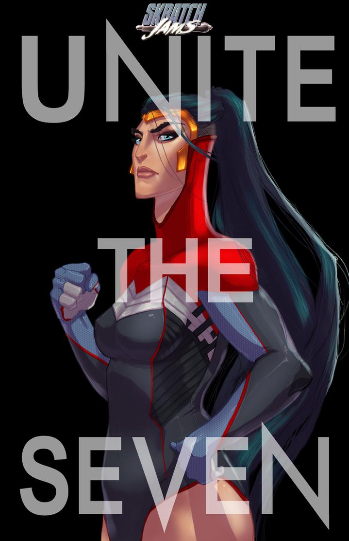 Skratchjams - Unite The Seven - Wonder Woman by UltimateTattts