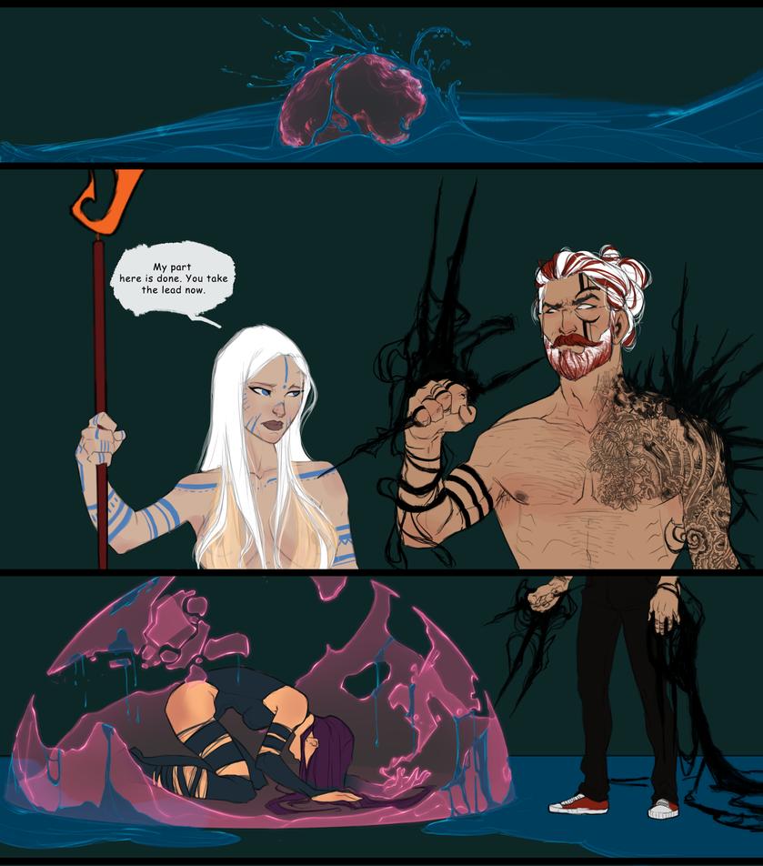 Battle Artist | Psylocke Comic | WIP by UltimateTattts