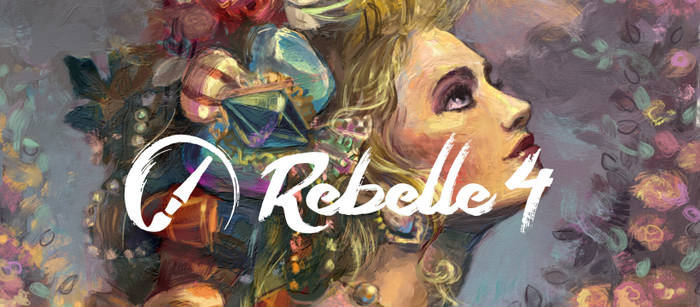 Rebelle 4   Hyper-Realistic Oils and Watercolors