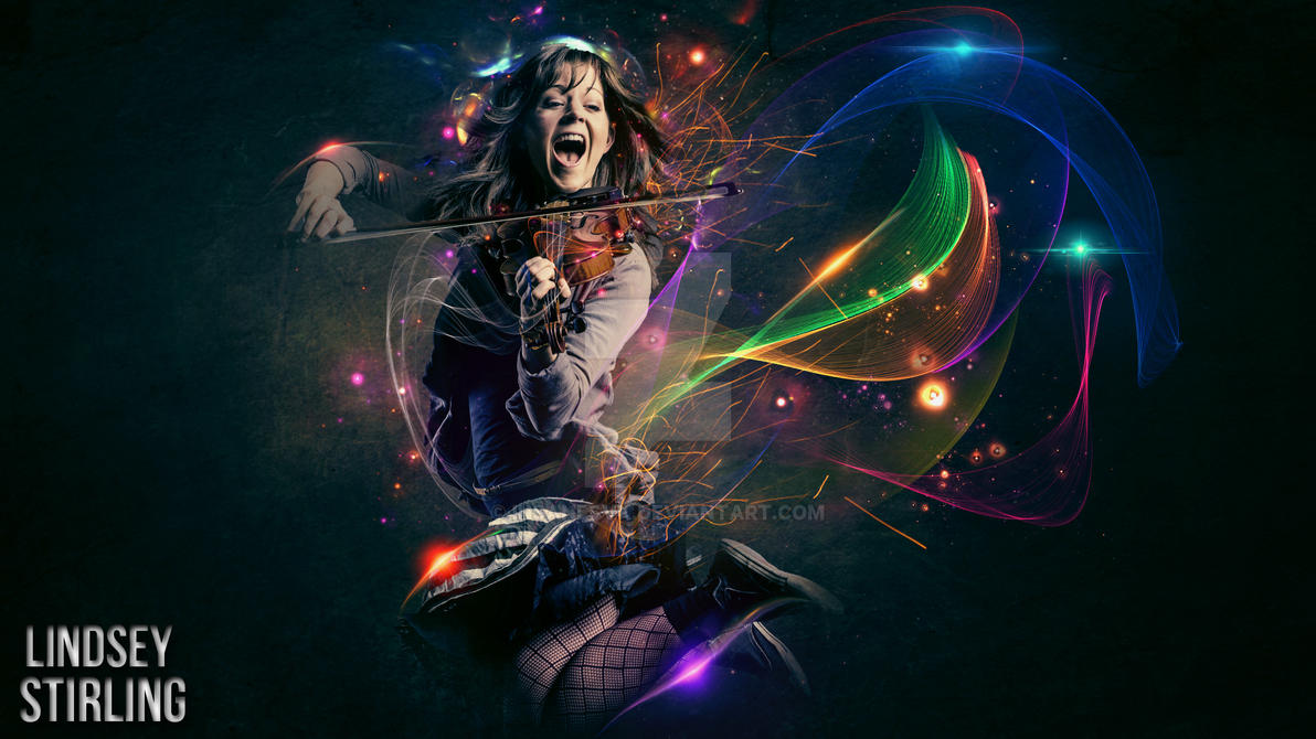 Lindsey Stirling Poster by InsaneSVK