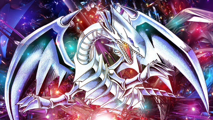 Yu Gi Oh Blue Eyes White Dragon Wallpaper By Ginxen On Deviantart