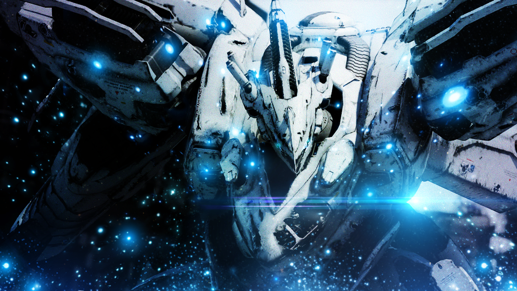Armored Core - White Glint by GinXen