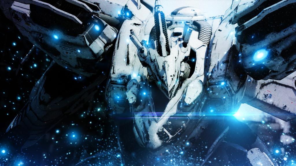 Armored Core - White Glint by GinXen