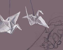 Jasper's cranes.