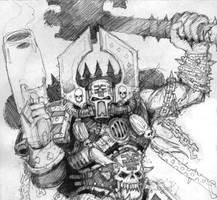 Kharn The Betrayer by layzan