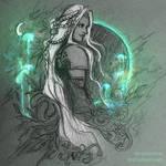 Elvish Sephiroth by BrightsWanderings