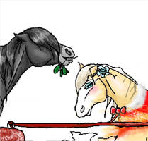 Christmas gift Teaser by RainbowPegasis