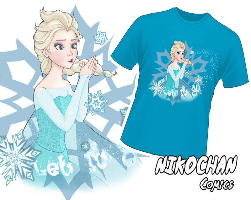 Elsa - FROZEN SHIRT DESIGN by mmmhOmoshiroi