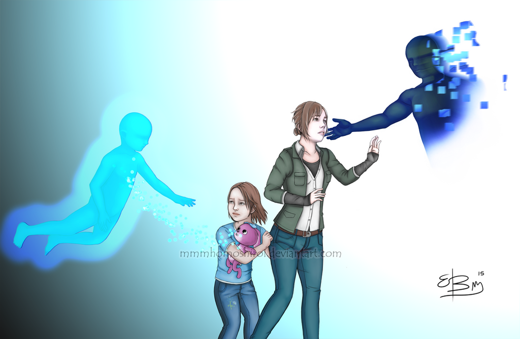 Beyond two souls - Jodie nd Aiden by mmmhOmoshiroi