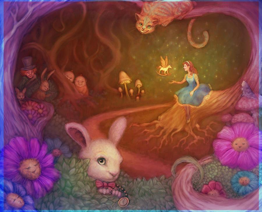 Maja in Wonderland by Sukeile