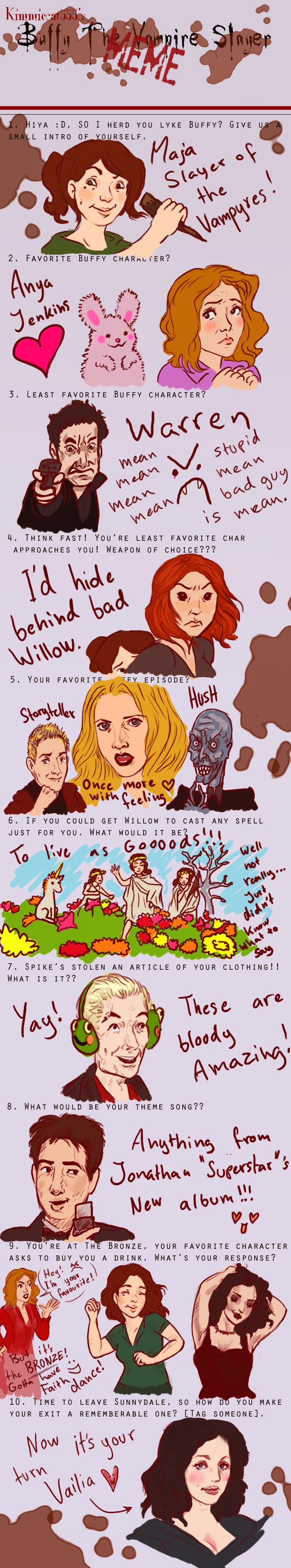 Buffy Meme by Sukeile