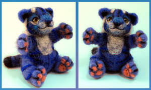 Blue Tiger Doll