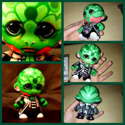 Thane Krios - Custom Munny