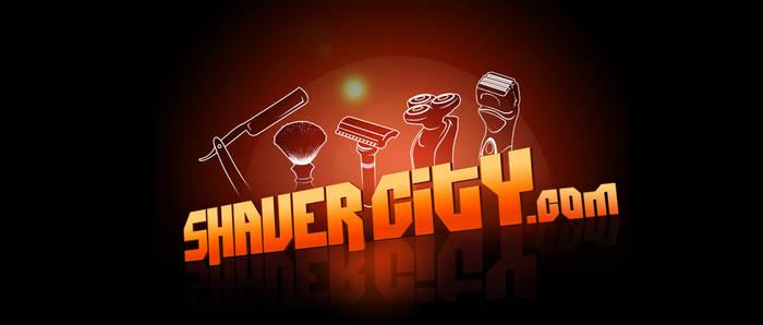 Logo design for shaver city