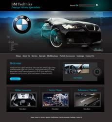 Web Design for BM Techniks