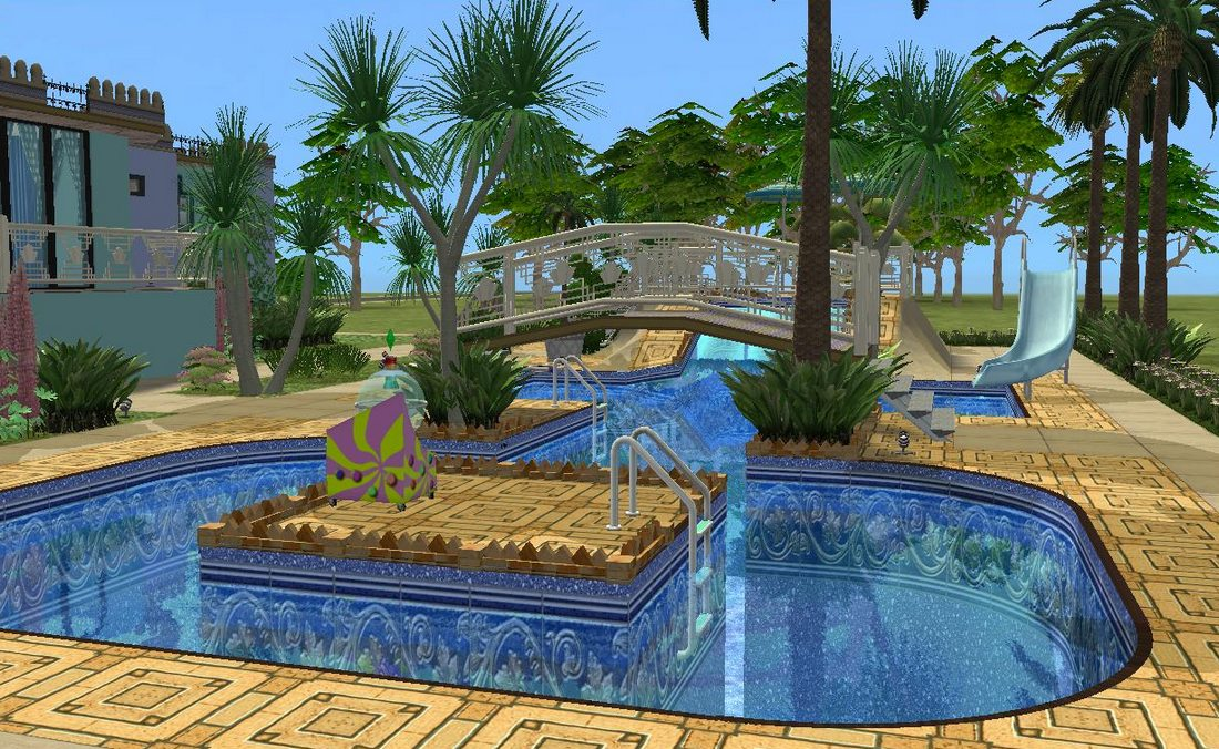Adriatica pool view the sims 2 by allison731 on deviantart for Pool design sims 3