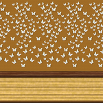 Wall Panel with Butterflies