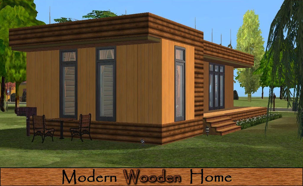 Sims  Modern Kitchen Set