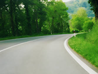 Road in Spring by allison731