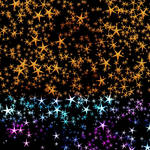 Magical wall with Stars