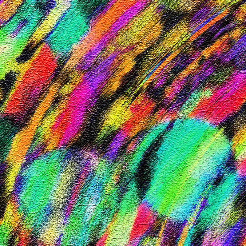 Multicolored Paint Texture II by allison731