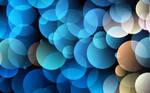 Blue Circles Wallpaper