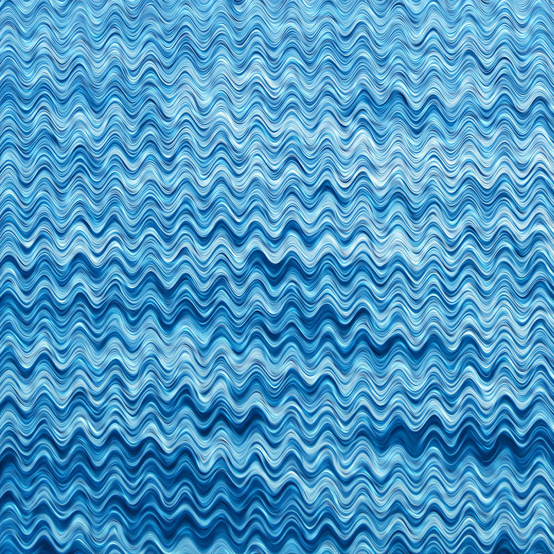 Blue Wavy Texture by allison731
