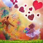 Teddy Bear in Love by allison731