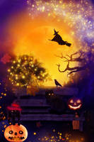 Halloween Night by allison731