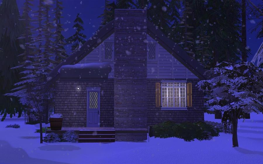 Winterlynn-Snowy Night by allison731