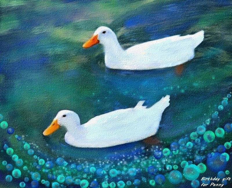Two Ducks by allison731