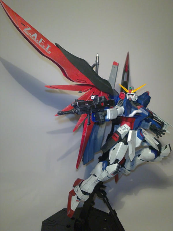 1:100 Destiny Gundam Flight by jiyuujin55