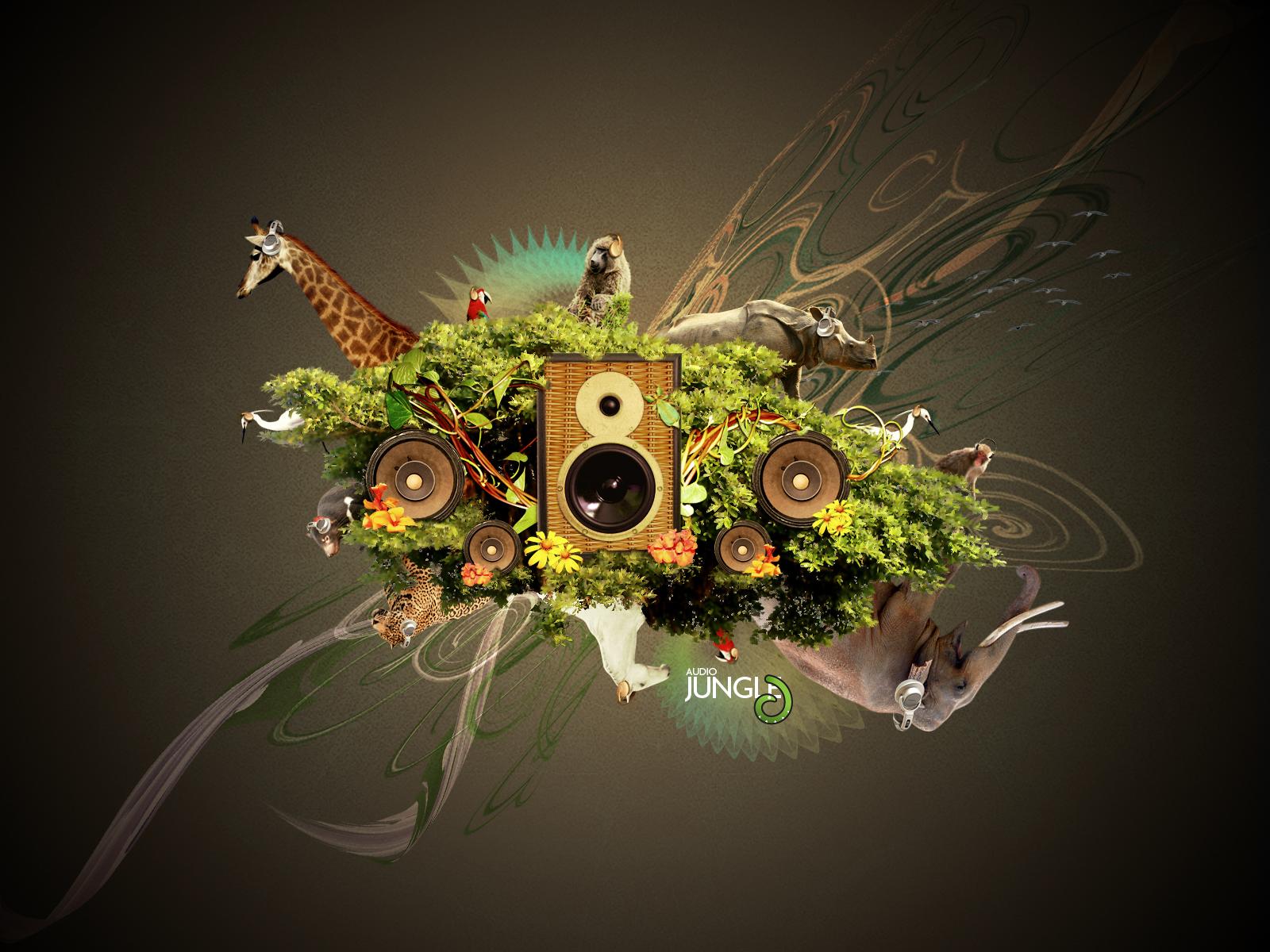 forest jungle music. Black Bedroom Furniture Sets. Home Design Ideas