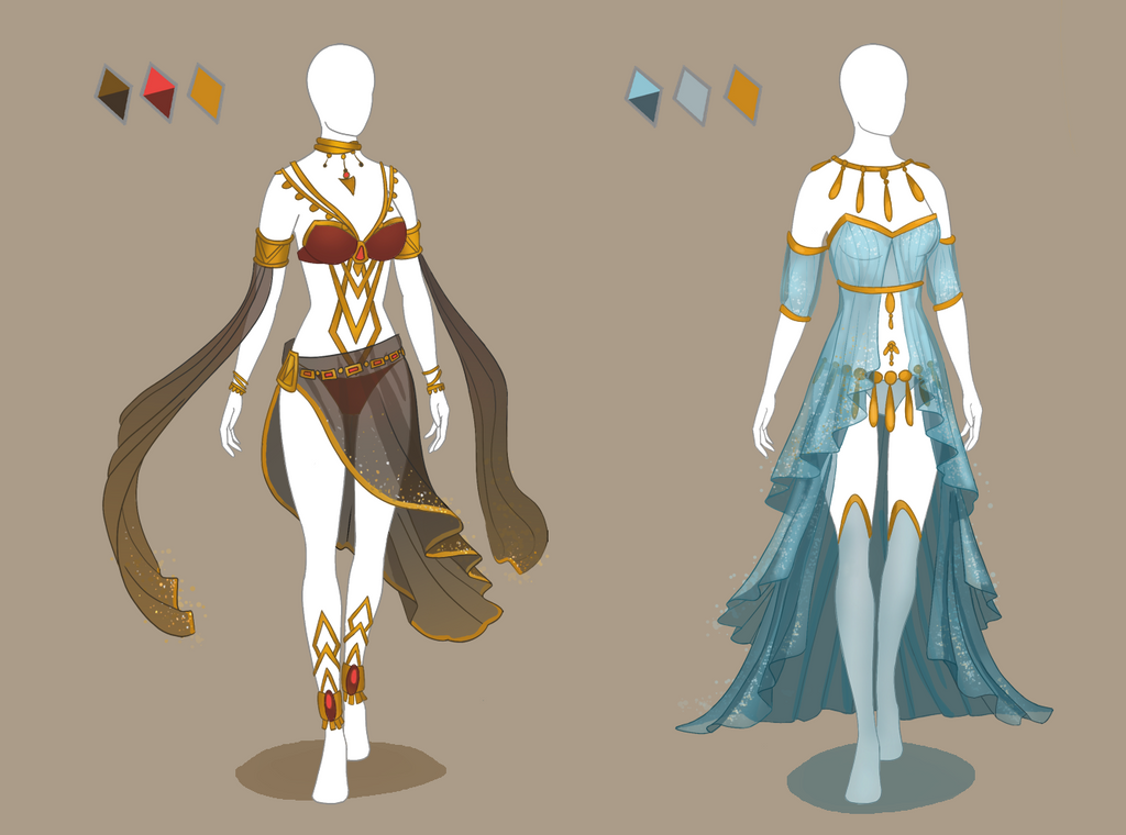 Closed Fashion Adoptables Palace Dancers By Ayleidian On