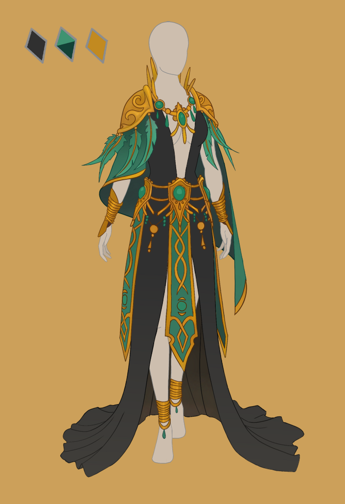 CLOSED Fashion adoptable ~ Jungle elf by ayleidian on ...